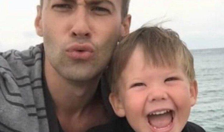 Шепелев показал редкий снимок сына с его сводной сестрой