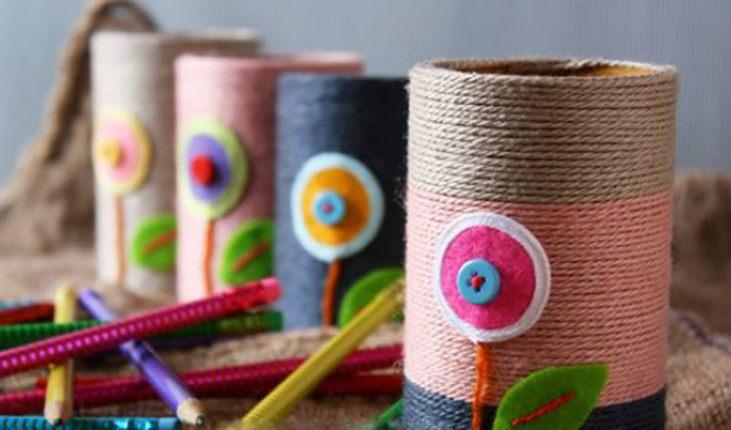 Вторая жизнь туалетной бумаги: креативные поделки из втулок