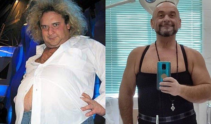 Российские звезды-мужчины, преобразившиеся после похудения (12 фото)