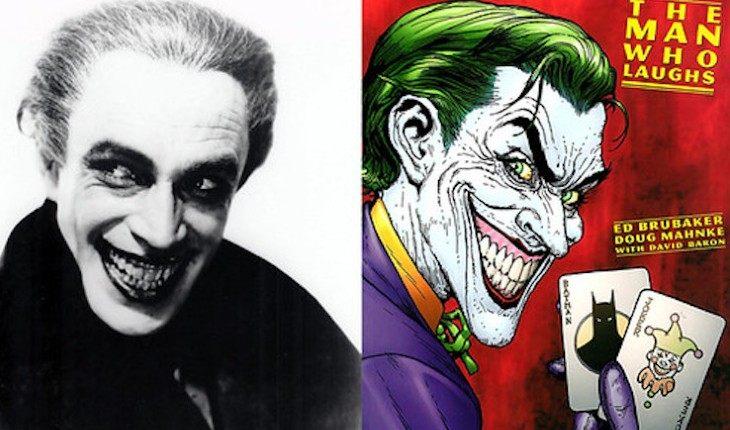 Прототипом Джокера стал актер Конрад Фейдт в фильме «Человек, который смеется»