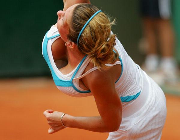 Самая большая грудь тенниса будет уменьшена (21 фото + видео).