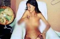В Сети появились интимные фото Анны Чапмен