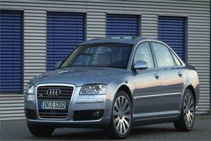 На втором месте с списке оказался Audi A8L