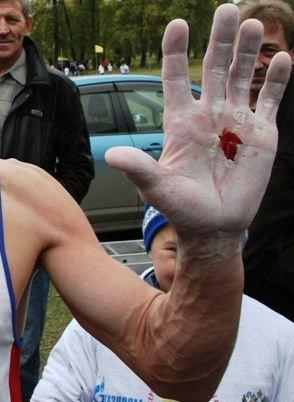 Цена победы Николая Каклимова - стёртые в кровь ладони