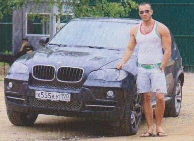Михаил Терехин - приверженец машины одной марки - BMW