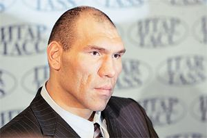 Nikolay Valuev became a TV presenter