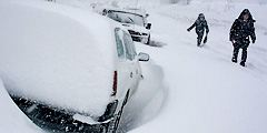 Улицы занесены снегом
