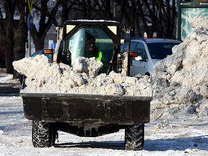 Уборка снега затянется надолго