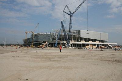 Строительство спортивных объектов во Львове