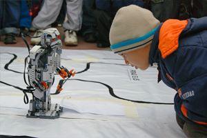 В Харбине прошли соревнования роботов