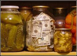 Храните деньги в надежном банке