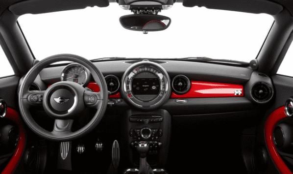 Mini Coupe изнутри