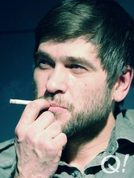 "The leader of the group ""Splin"" Sasha Vasiliev"