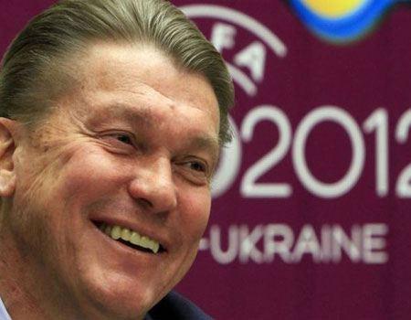 Тренер команды-хозяйки Олег Блохин