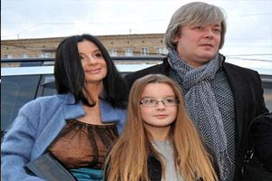 Together Catherine and Alexander Strizhenovy almost 25 years