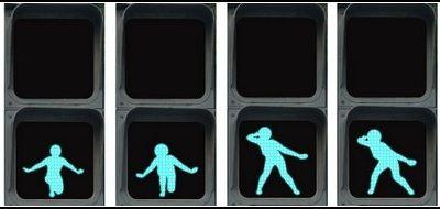 Или с какой скоростью следует переходить дорогу