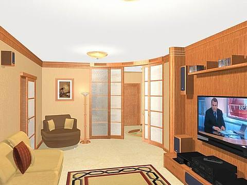Модель съемной квартиры