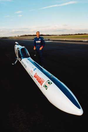 Ричард Браун установил рекорд скорости в 1999 году