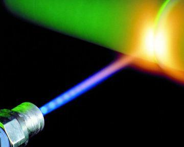Лазер удаляет разогретые атомы