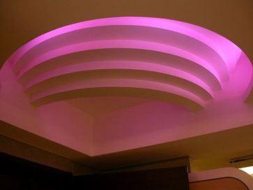 Светодиодная лента может использоваться как декоративный элемент