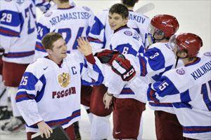 Молодежная сборная России по хоккею вышла в финал чемпионата мира