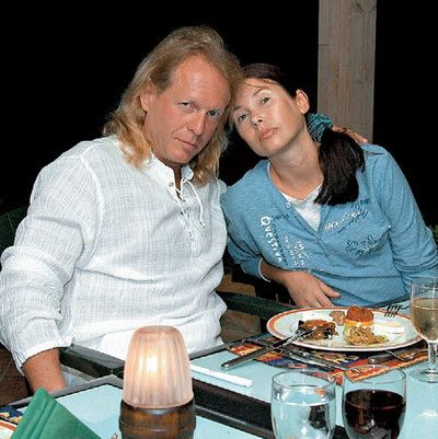 Крис Кельми и его супруга Людмила