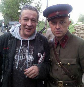 Михаил Ефремов и Вячеслав Титов