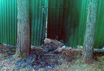 На этом месте в Доме-2 произошел взрыв в апреле 2011 года