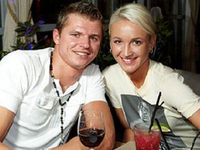 Dmitry Tarasov and Olga Buzova