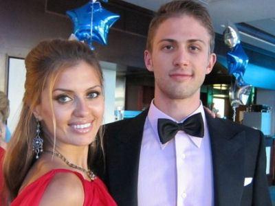 Vika Bonya and Alex Smurfit