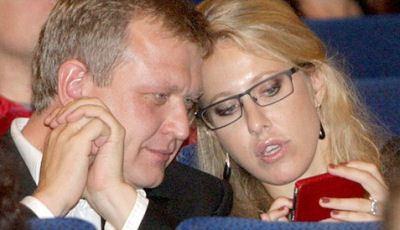 Ksenia Sobchak and Sergey Kapkov
