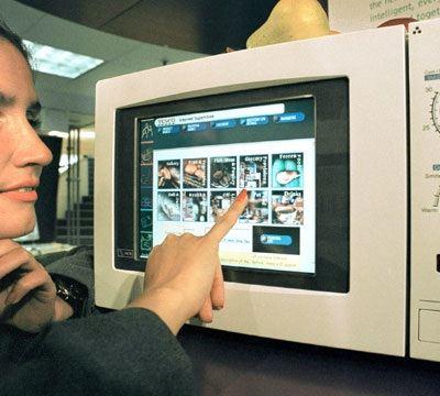 Микроволновая печь может показать много интересного