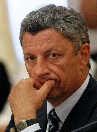 Юрий Бойко сделал заявление для прессы