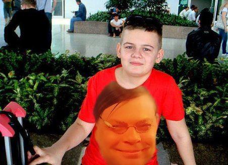 Сын Ирины Александровны Олег