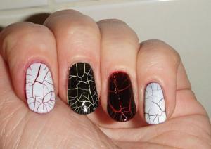 В моде искусственно состаренные ногти – кракелюр