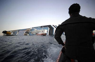 Найден «чёрный ящик» с судна Costa Concordia