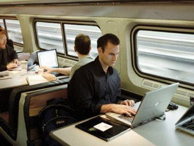 Теперь в российских поездах будет Интернет и телевидение