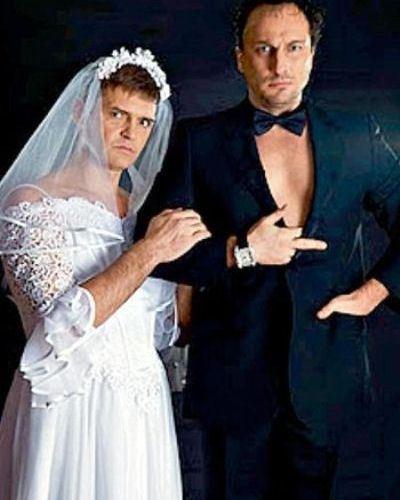 Свадьба секс-символов российского кино