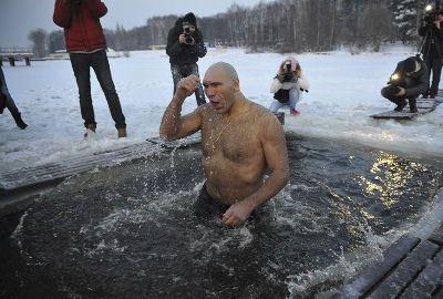 Николай Валуев прикоснулся к священному