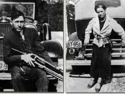 Бонни и Клайд - герои популярного в 30-х годах фильма