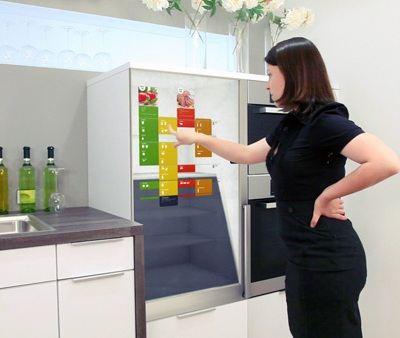 Холодильник будущего In My Fridge станет незаменимым помощником