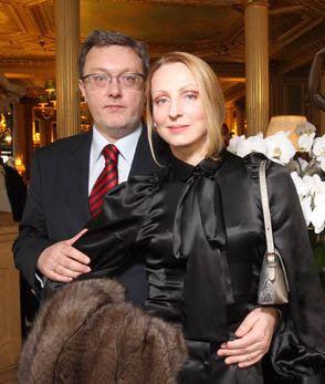 Илзе Лиепа с мужем
