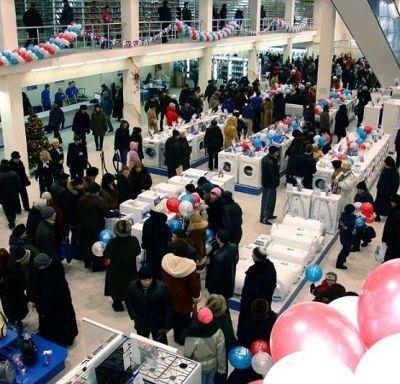 Российский предновогодний шоппинг пока еще мало похож на европейский