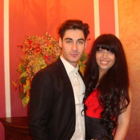 Тигран Салибеков со своей сестрой