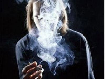 Tobacco smoke annoys others