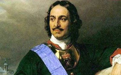 Peter the Great taught Russia to smoke
