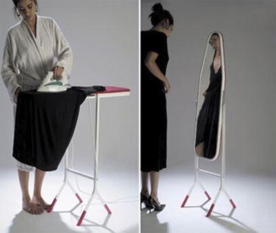 Гладильная доска - зеркало