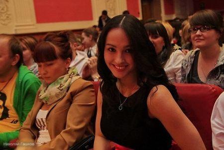 Самая красивая студентка Москвы Яна Дан-Чин-Ю учится в РГСУ