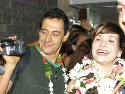 Наталья Орейро с мужем  фотообзор  Наталия Орейро (Natalia Oreiro