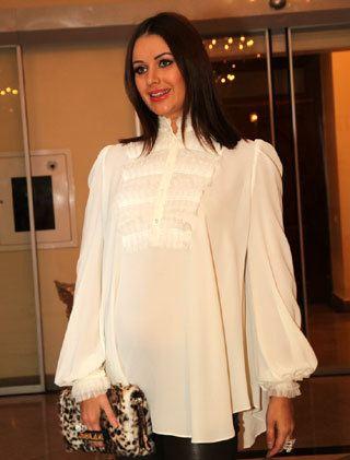 Свою беременность Оксана Федорова считает подарком от Бога